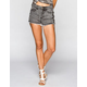 LIRA XXX Womens Highwiasted Denim Shorts