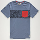 RIP CURL Surf Craft Mens Pocket Tee