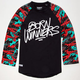 TRUKFIT Winners Are Born Mens Raglan Tee