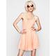 FULL TILT Lace Skater Dress