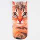 Kitty Photo Womens Ankle Socks