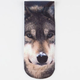 Wolf Photo Womens Ankle Socks