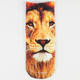Lion Photo Womens Ankle Socks