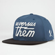 US VERSUS THEM Magnum SP14 Mens Snapback Hat