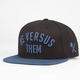 US VERSUS THEM New Nomad Mens Snapback Hat
