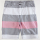 CHARLES AND A HALF Pieced Mens Shorts