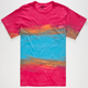 MOWGLI SURF Ocean Sun Mens Pocket Tee