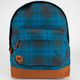 MI-PAC Blue Plaid Backpack