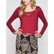 FULL TILT Crochet Back Womens Crop Top