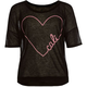 FULL TILT Heart Cali Girls Boxy Tee