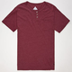 BURTON Pippen Mens Pocket Henley