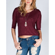 FULL TILT Hachi Knit Womens Dolman Top