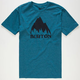BURTON Mountain Logo Mens T-Shirt