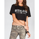 YOUNG & RECKLESS Youngville Womens Crop Tee