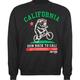 RIOT SOCIETY Back To Cali Mens Sweatshirt
