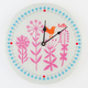 Hello Birdie Wall Clock