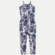 FULL TILT Floral Print Girls Jumpsuit