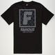 FAMOUS STARS & STRAPS Flat Saints Mens T-Shirt