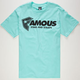 FAMOUS STARS & STRAPS Static Staple Mens T-Shirt