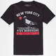 RIOT SOCIETY 5 Boroughs Boys T-Shirt