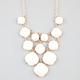 FULL TILT 12 Bead Bib Statement Necklace