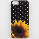 Sunflower Dots iPhone 5/5S Case