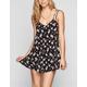 FULL TILT Daisy Print Slip Dress