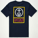 CAPTAIN FIN Boxed Out Mens T-Shirt