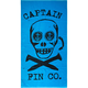CAPTAIN FIN Skulls & Spikes Towel