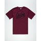 VOLCOM Sonar Script Mens T-Shirt