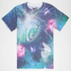 UNIVIBE Way Outer Space Mens T-Shirt