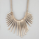 FULL TILT Metal Sticks Statement Necklace