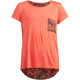 FULL TILT Printed Back Girls Pocket Tee