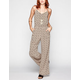 MIMI CHICA Tie Back Womens Palazzo Jumpsuit