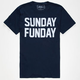 RIOT SOCIETY Classic Sunday Funday Mens T-Shirt