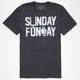 RIOT SOCIETY Football Sunday Funday Mens T-Shirt