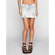 HIGHWAY Destructed Denim Skirt