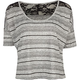 FULL TILT Stripe Effect Womens Top