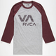 RVCA Ballpoint Mens Baseball Tee
