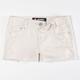 SCISSOR Frayed Hem Girls Shorts