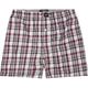 BLUE CROWN Three Color Plaid Mens Boxers
