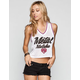 METAL MULISHA Hoops Womens Crop Jersey Tank