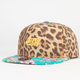 OFFICIAL Cheetah Floral Mens Snapback Hat