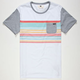 RUSTY Lionel Mens Pocket Tee