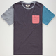 RUSTY Academy Mens Pocket Tee