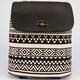 Ethnic Print Flapover Backpack
