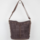 Studded Faux Suede Handbag