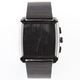 Square Face Mesh Band Watch