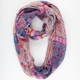 Floral Mixed Pattern Scarf