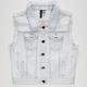 FULL TILT Daisies Girls Denim Vest